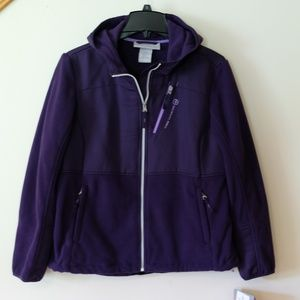 Free Country Purple Magic Microtech Fleece - Large